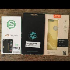 Bundle of 3 IPhone 6 Plus cases